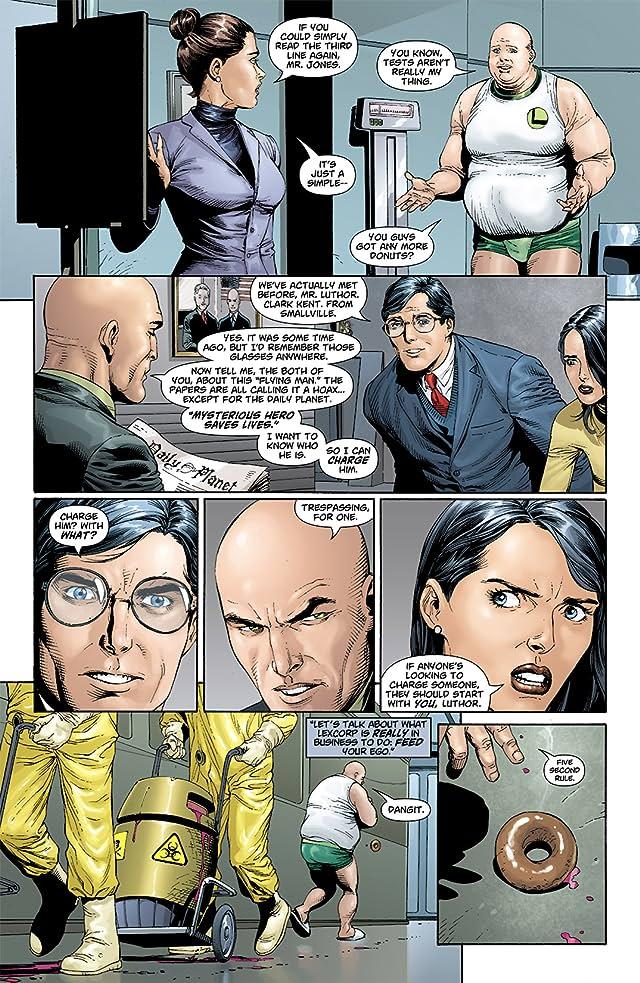 click for super-sized previews of Superman: Secret Origin #4