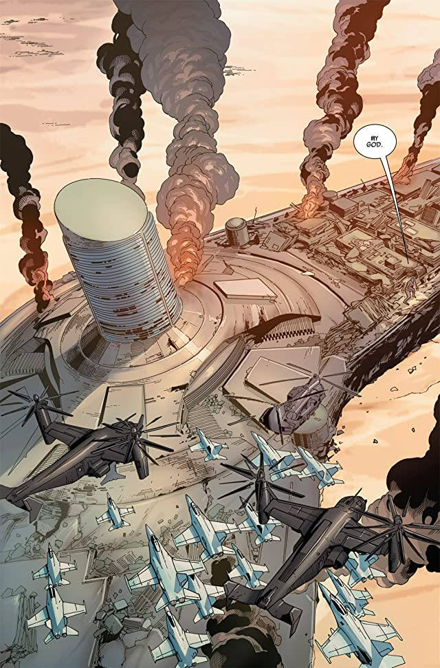 click for super-sized previews of Ultimate Comics Avengers vs. New Ultimates #1