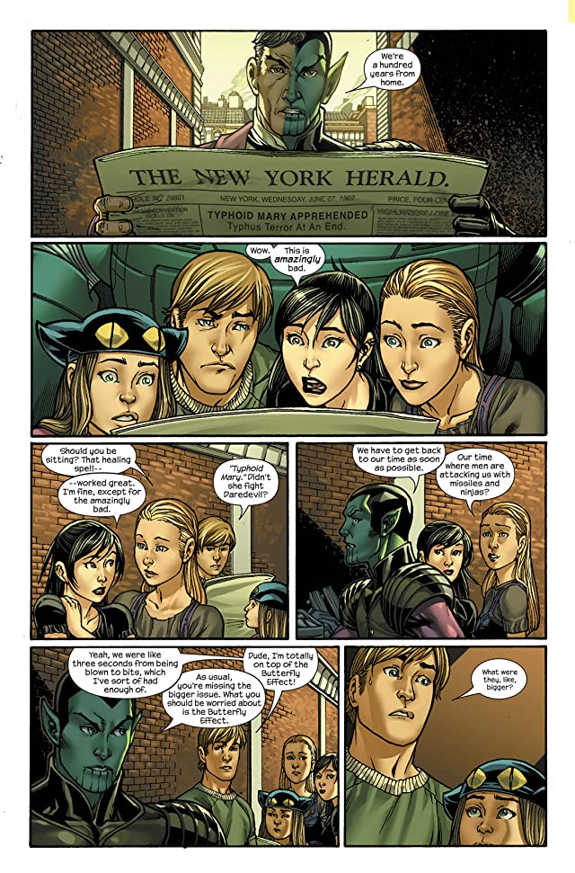 click for super-sized previews of Runaways (2005-2008) #27