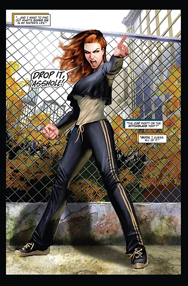 click for super-sized previews of Witchblade #131
