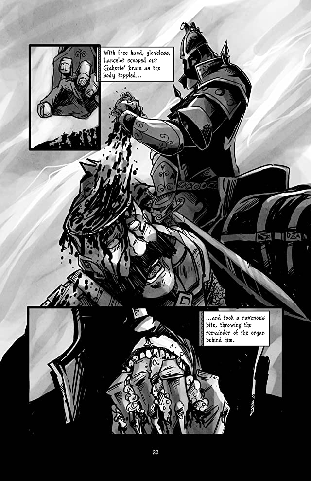 click for super-sized previews of Knights of the Living Dead #2