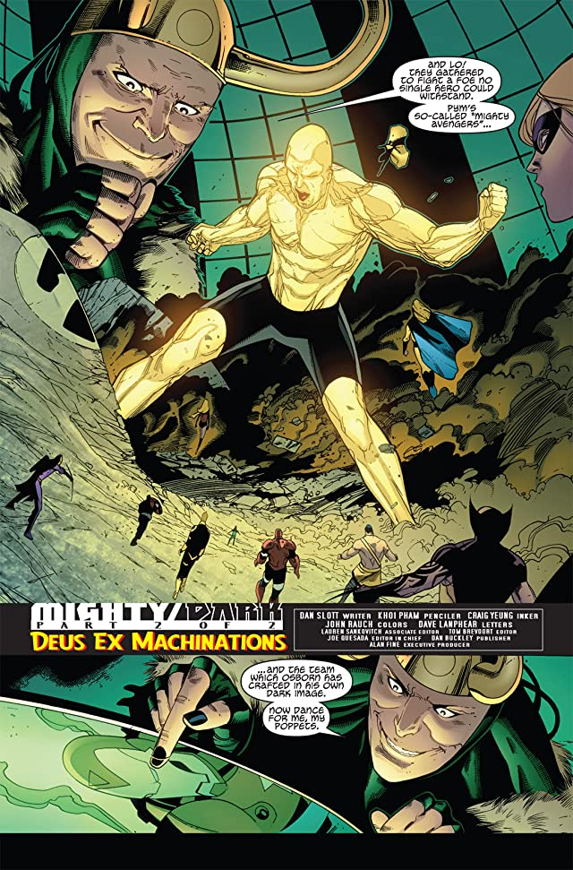 click for super-sized previews of Mighty Avengers (2007-2010) #33