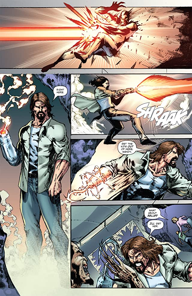 Grimm Fairy Tales Presents: Neverland - Hook #2