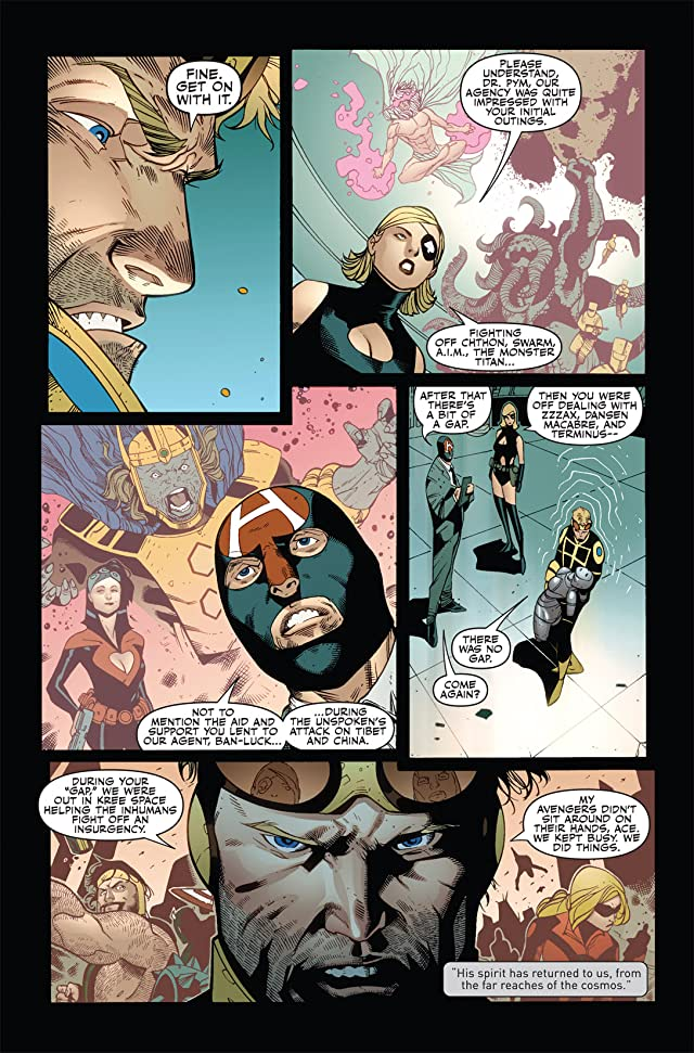click for super-sized previews of Mighty Avengers (2007-2010) #35