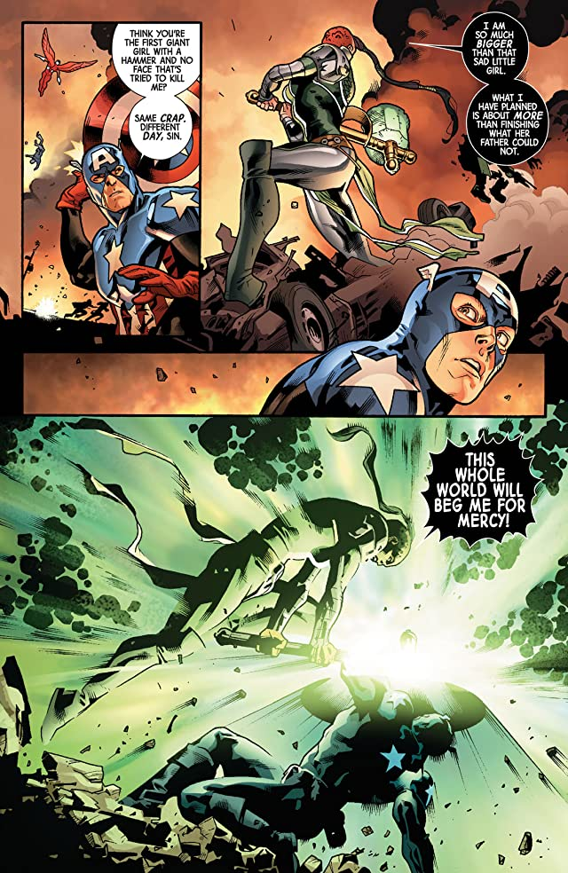 click for super-sized previews of Fear Itself #3