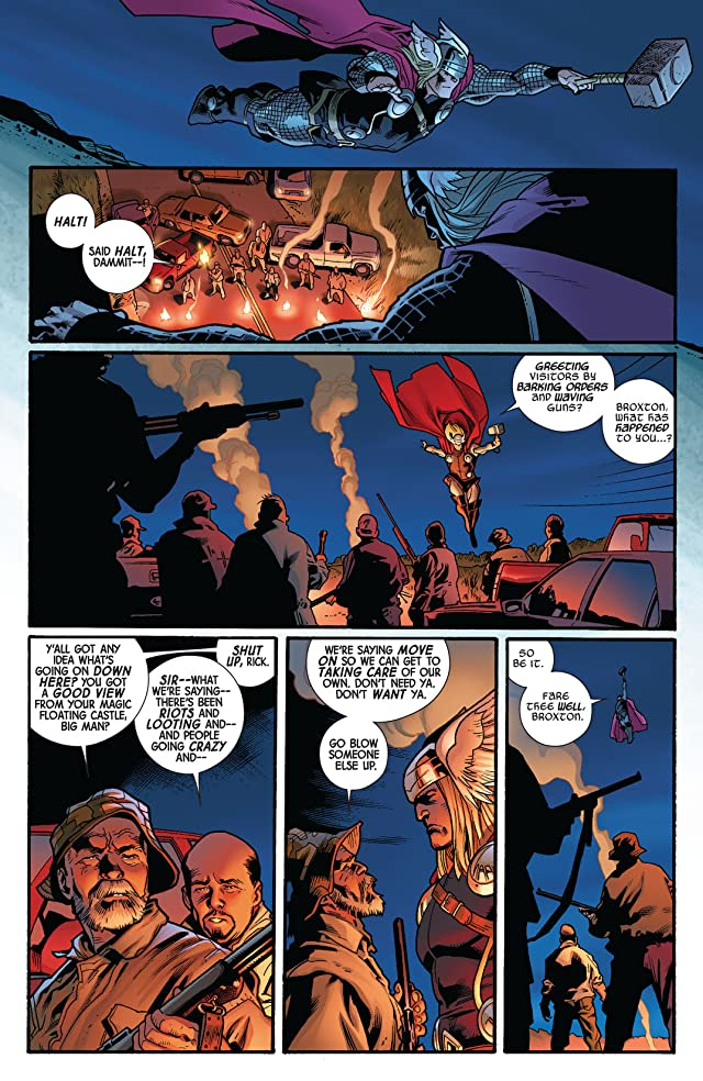click for super-sized previews of Fear Itself #4