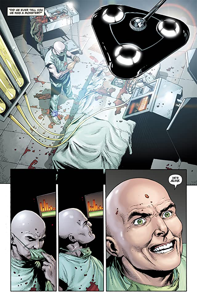 click for super-sized previews of Superman: Secret Origin #6