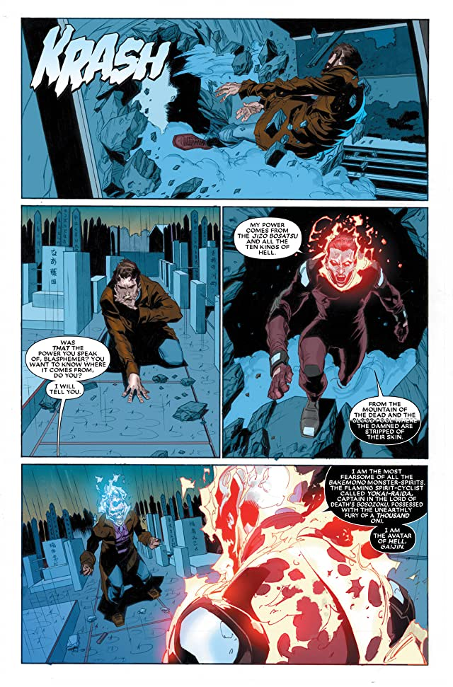 click for super-sized previews of Ghost Rider (2006-2009) #30