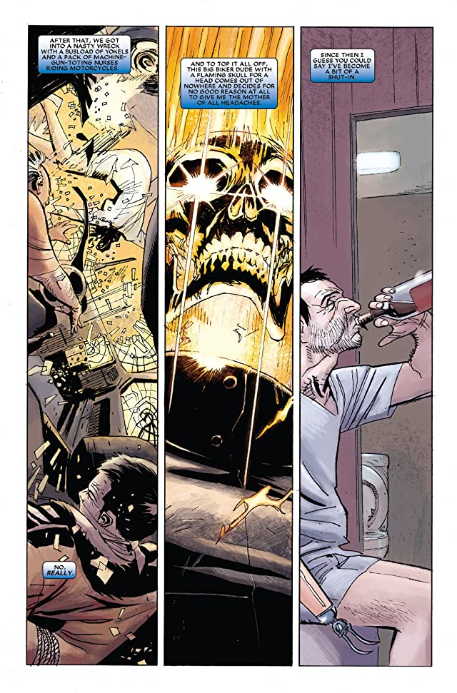 click for super-sized previews of Ghost Rider (2006-2009) #31