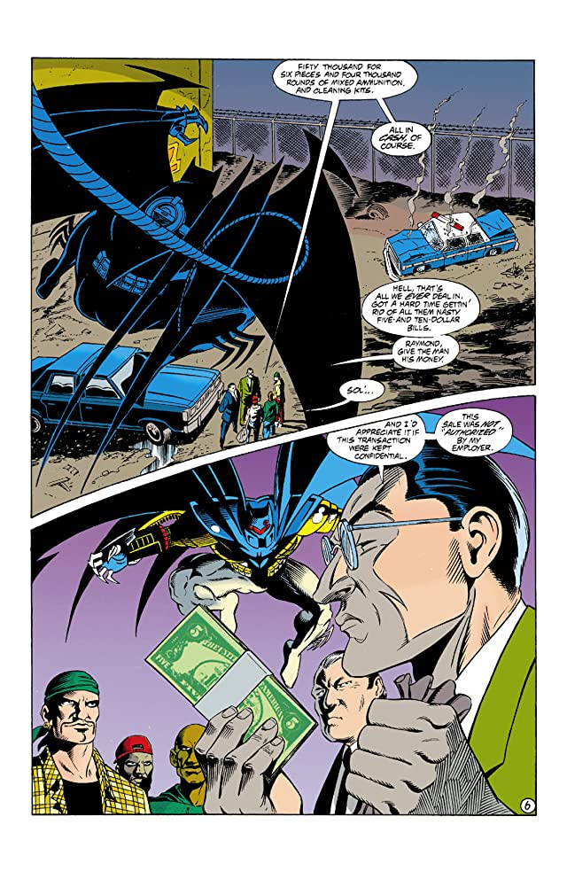 click for super-sized previews of Detective Comics (1937-2011) #676