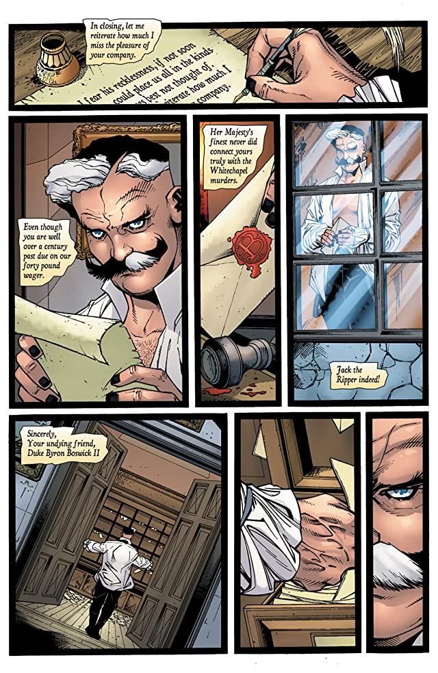 click for super-sized previews of Doom Patrol (2009-2011) #17