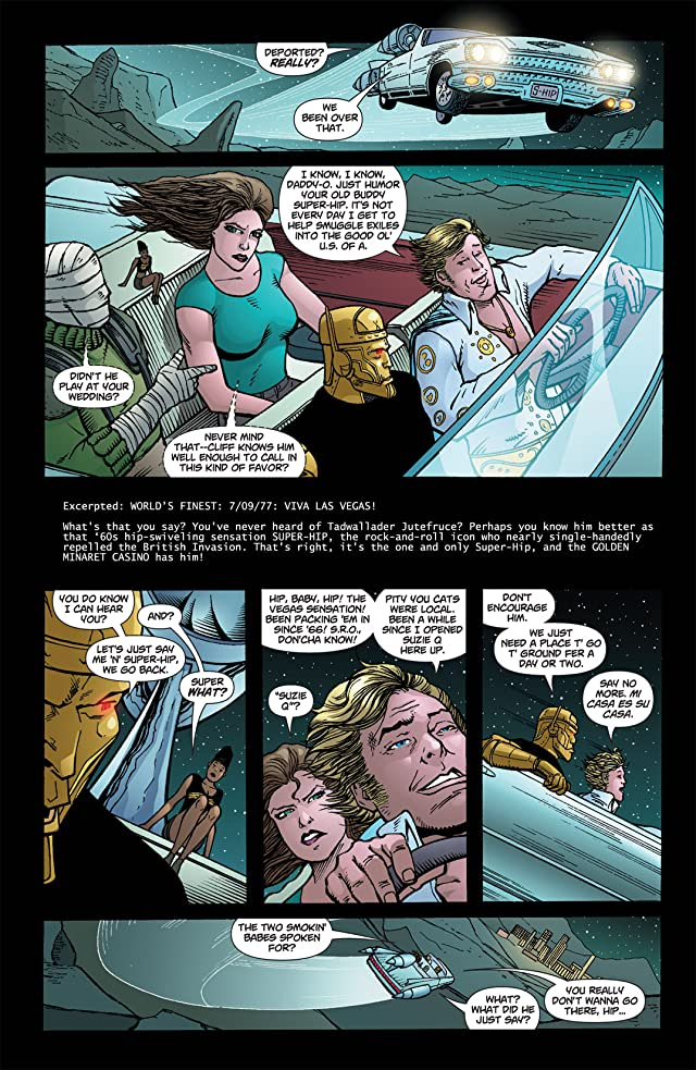 click for super-sized previews of Doom Patrol (2009-2011) #20