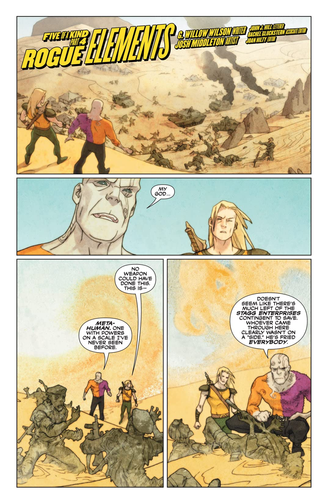 Outsiders: Five of a Kind #4 (of 5): Metamorpho/Aquaman