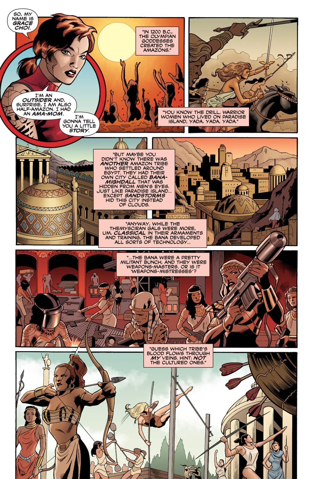 Outsiders: Five of a Kind #5 (of 5): Wonder Woman/Grace