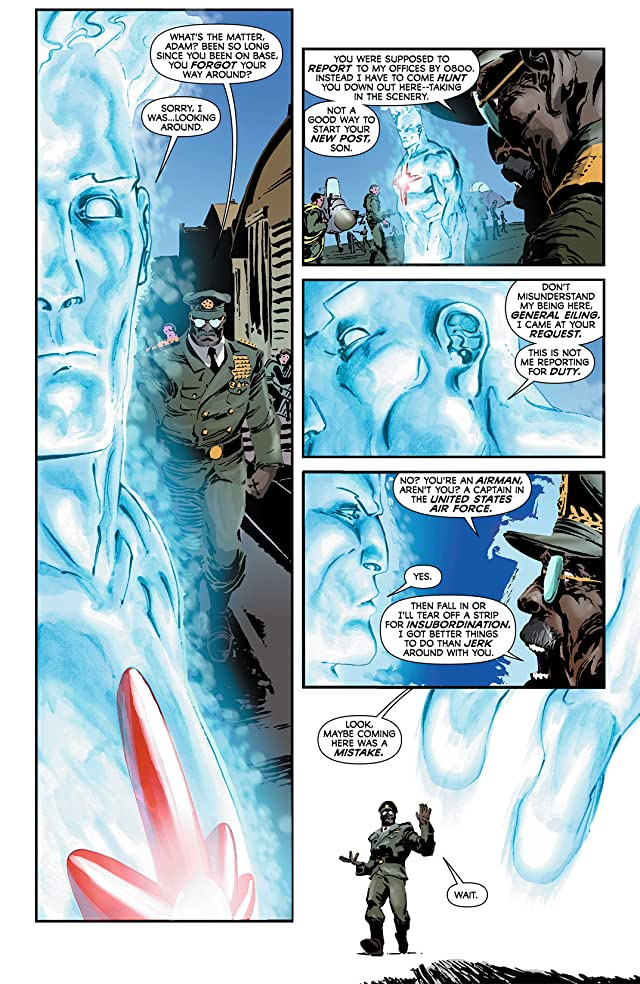 click for super-sized previews of Captain Atom (2011-2012) #4