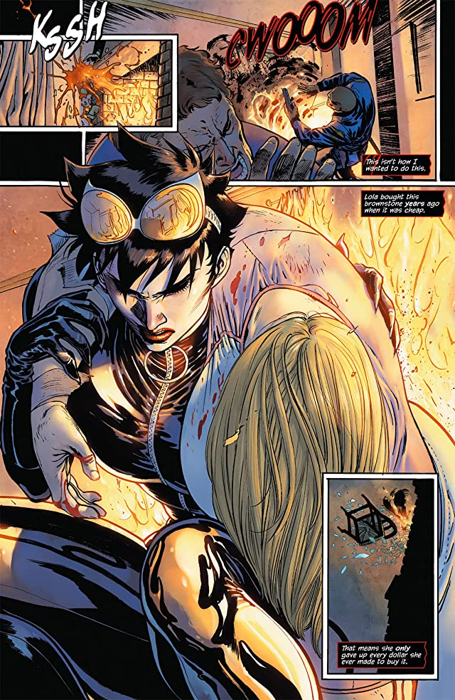 click for super-sized previews of Catwoman (2011-) #4