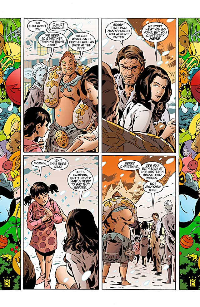 click for super-sized previews of Fables #112