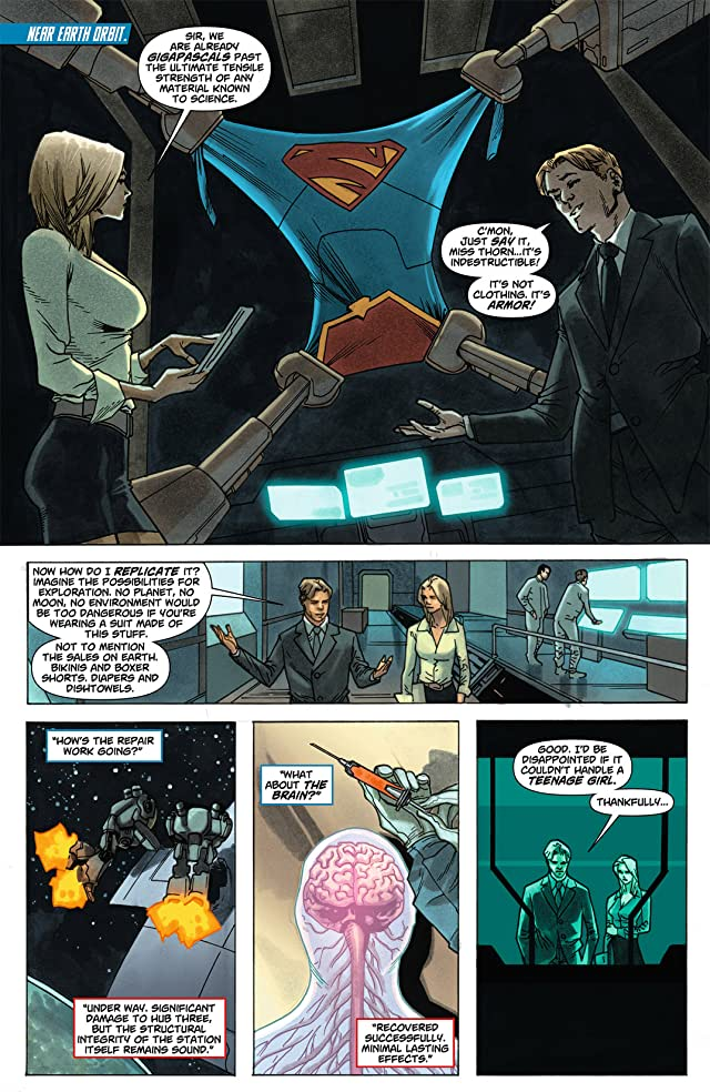 click for super-sized previews of Supergirl (2011-2015) #4