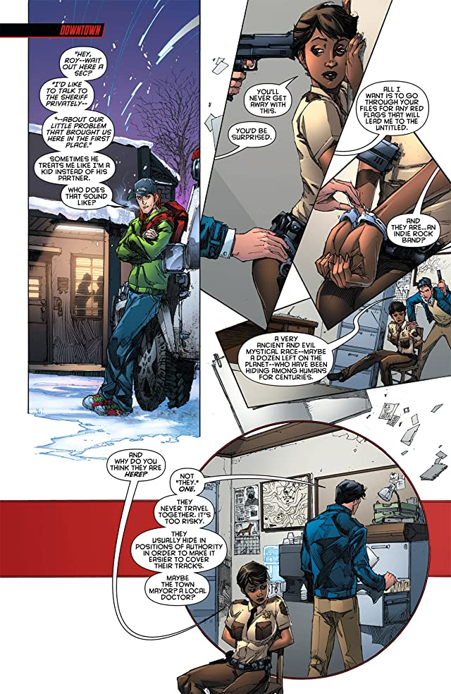 click for super-sized previews of Red Hood and the Outlaws (2011-2015) #4