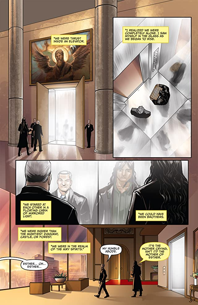 click for super-sized previews of Anne Rice's Servant of the Bones #5