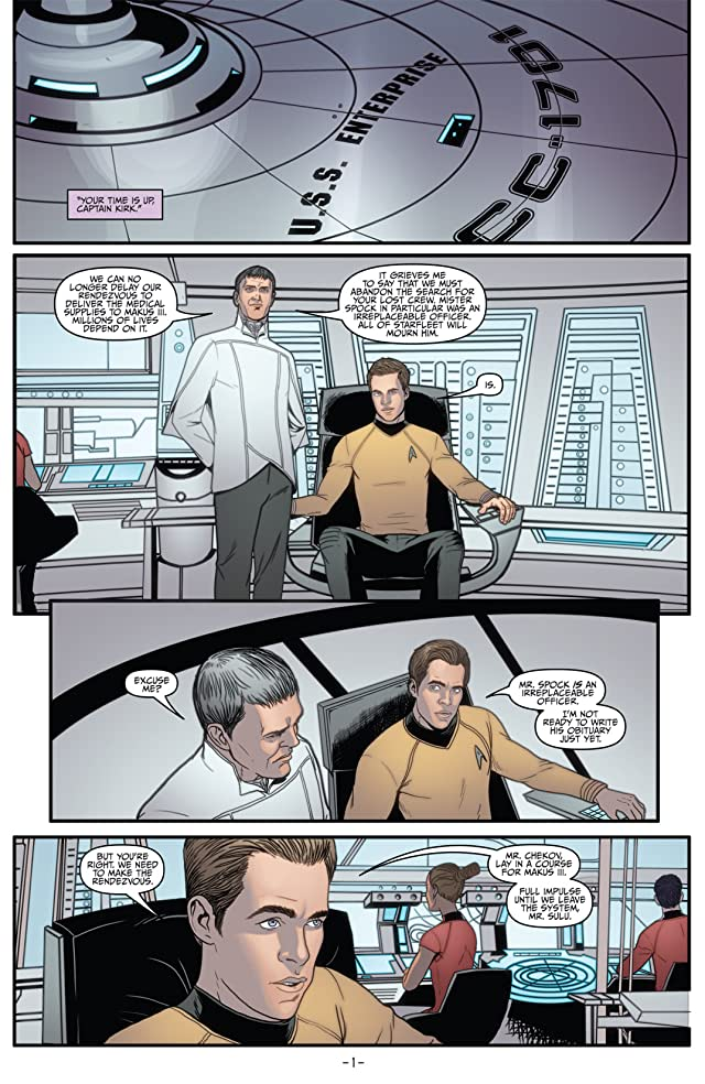 click for super-sized previews of Star Trek (2011-) #4
