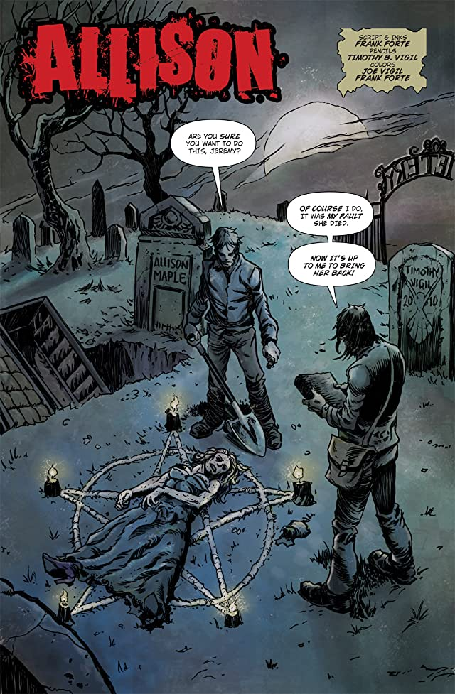 click for super-sized previews of Zombie Terrors #2