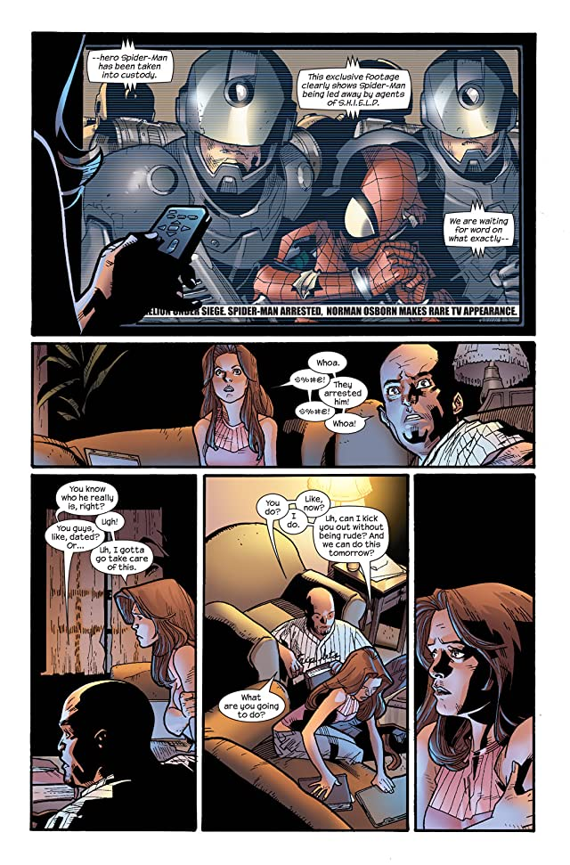 click for super-sized previews of Ultimate Spider-Man (2000-2009) #115