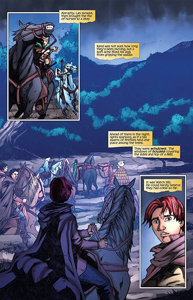 click for super-sized previews of Robert Jordan's Wheel of Time: Eye of the World #7