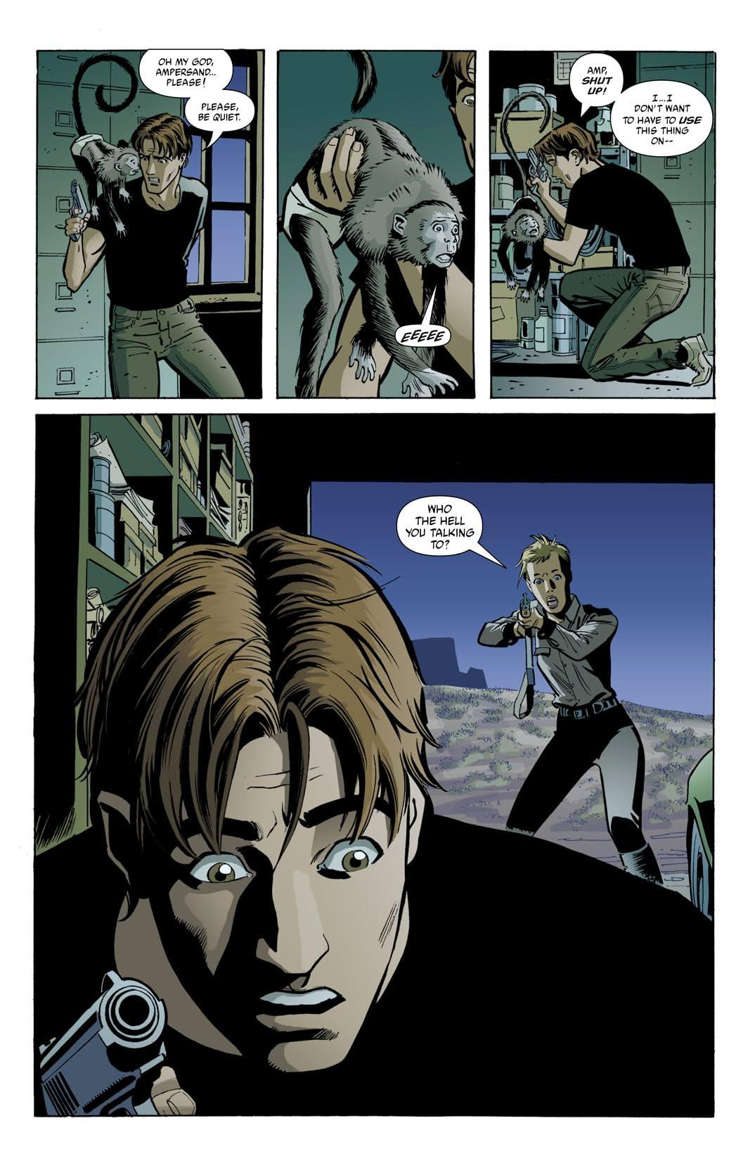 Y: The Last Man #23