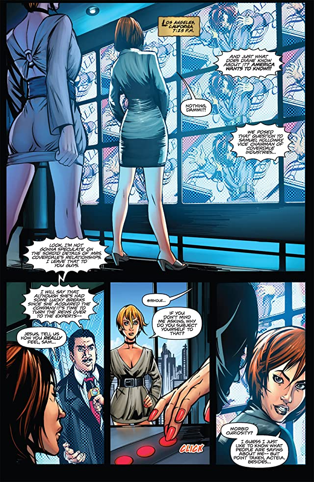 click for super-sized previews of Executive Assistant Iris Vol. 2 #1