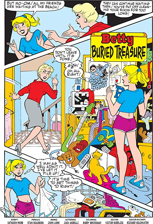 click for super-sized previews of Betty #166