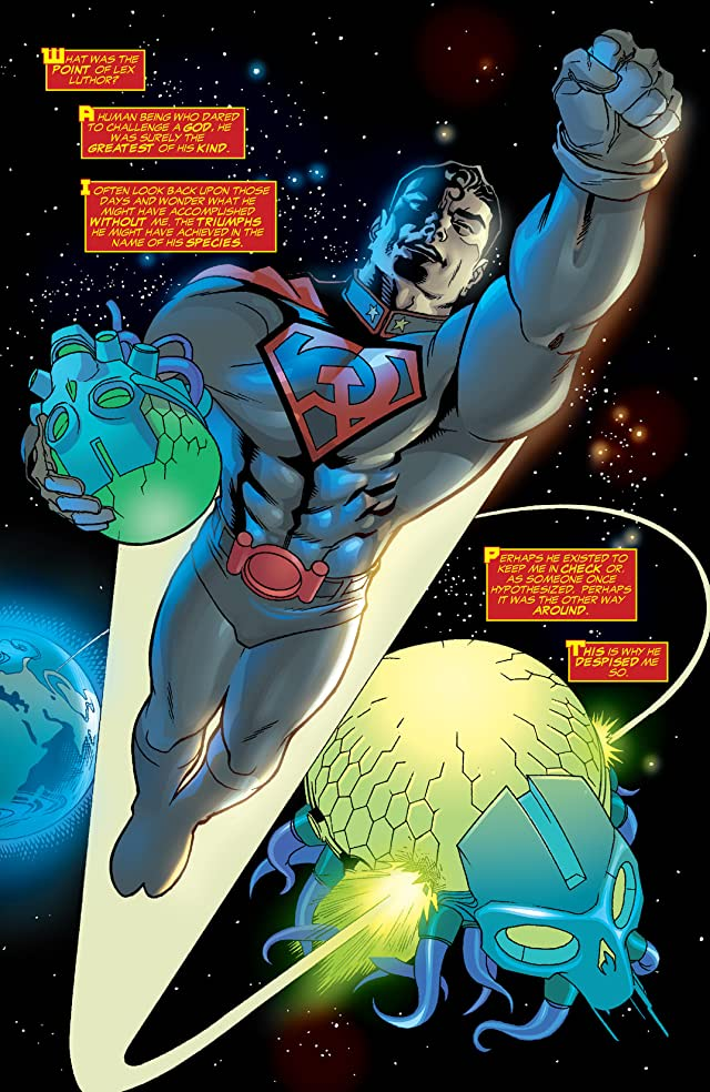 click for super-sized previews of Superman: Red Son #2