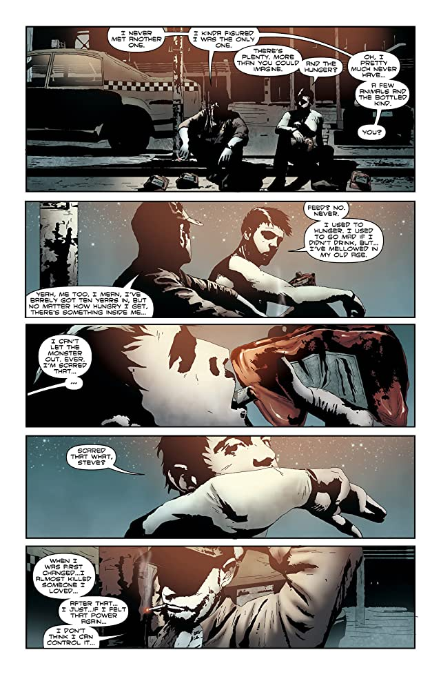 click for super-sized previews of I, Vampire (2011-2013) #4