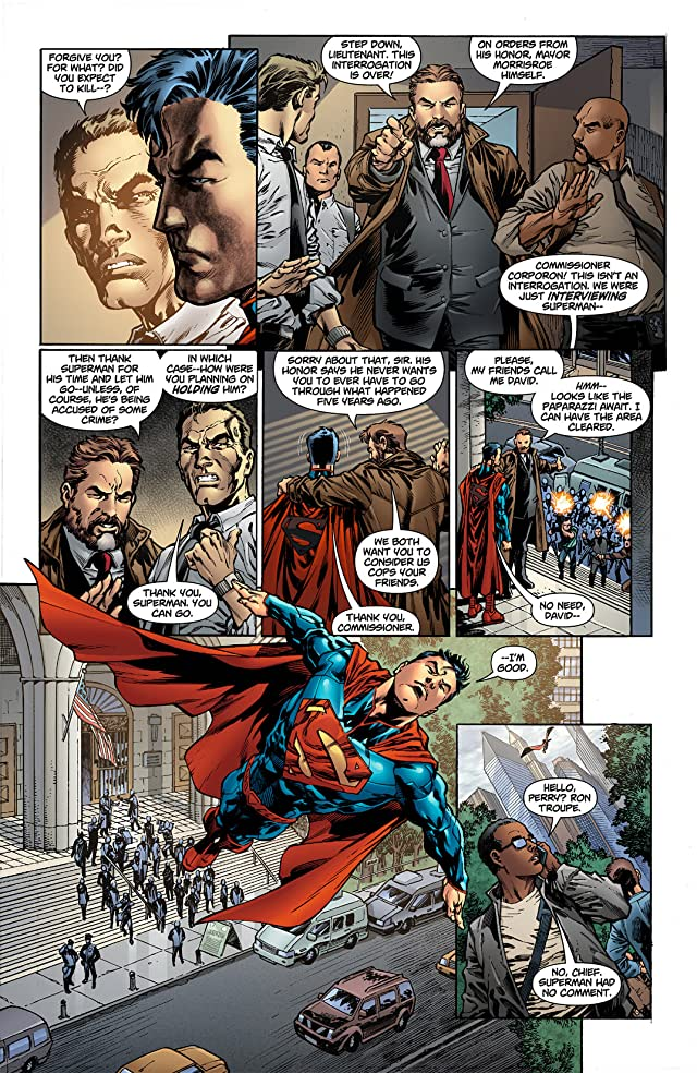 click for super-sized previews of Superman (2011-) #4