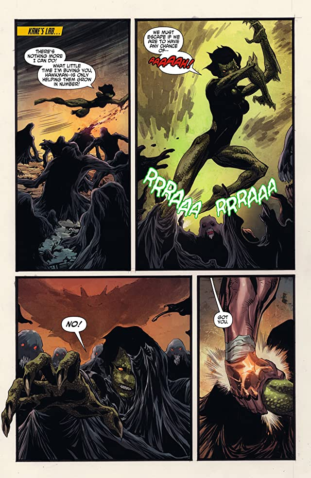 click for super-sized previews of The Savage Hawkman (2011-2013) #4