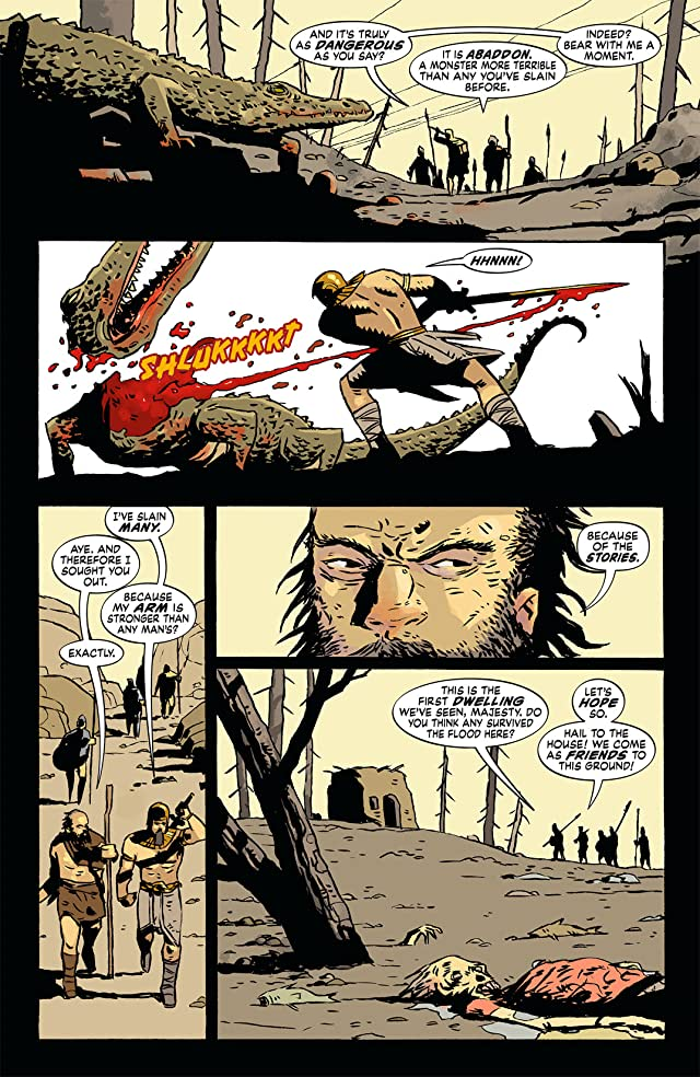 click for super-sized previews of The Unwritten #32.5