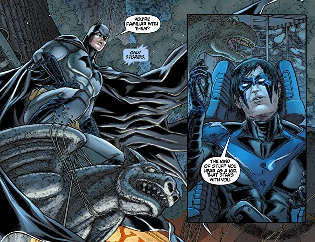 click for super-sized previews of Batman: Arkham Unhinged #11