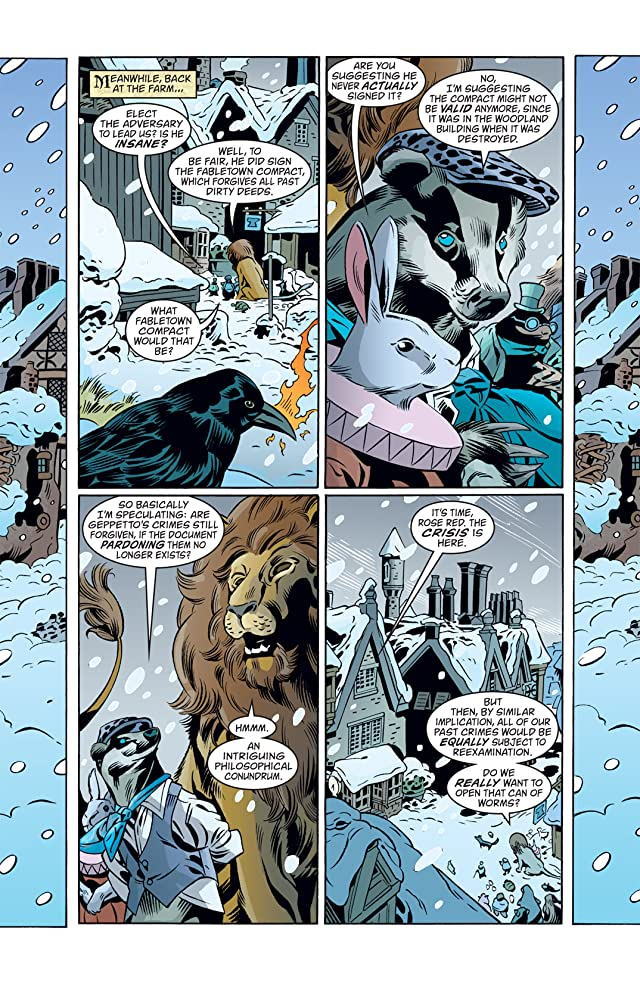 click for super-sized previews of Fables #91