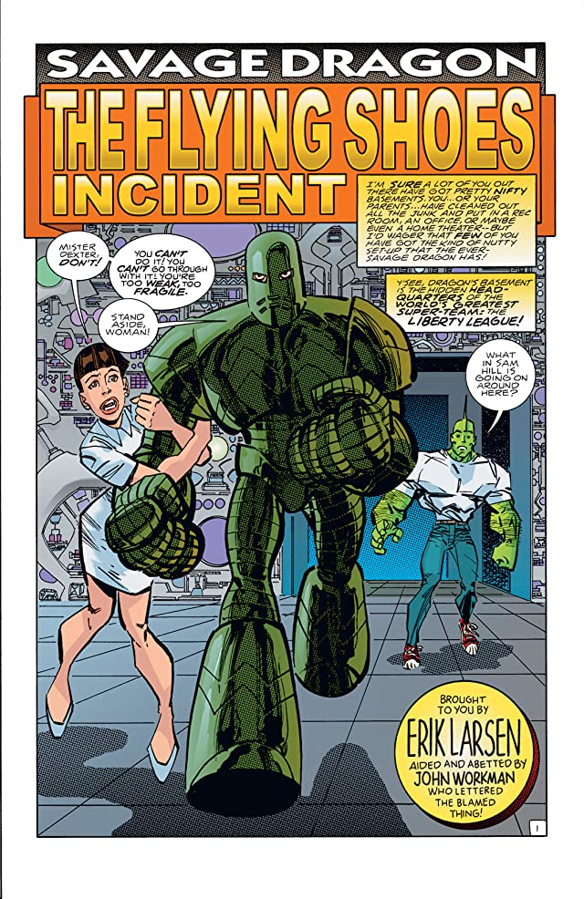 Savage Dragon #108