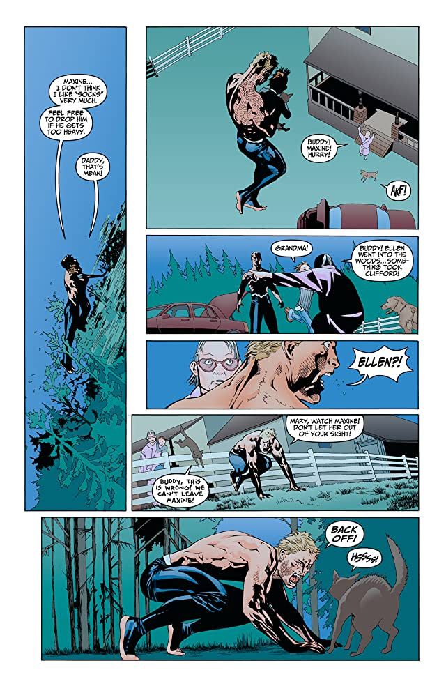 click for super-sized previews of Animal Man (2011-2014) #5