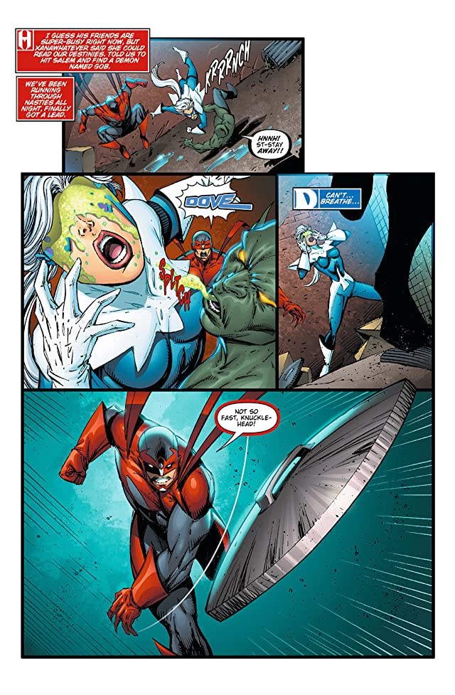 click for super-sized previews of Hawk and Dove (2011-2012) #5