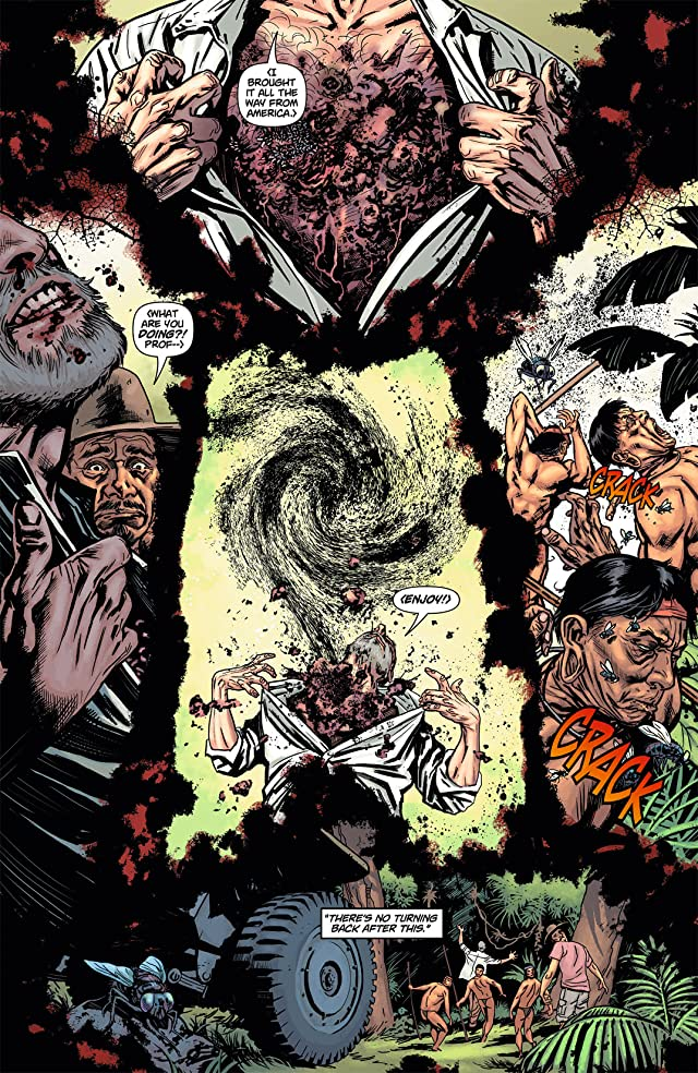 click for super-sized previews of Swamp Thing (2011-2015) #5
