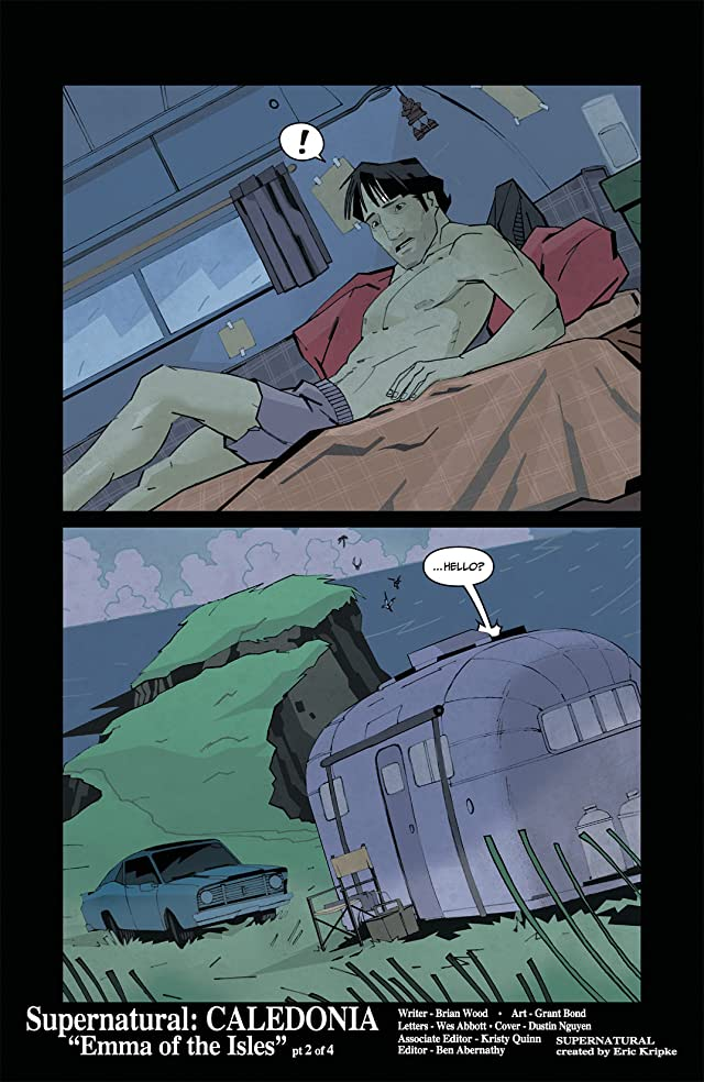 click for super-sized previews of Supernatural (2011-2012) #4