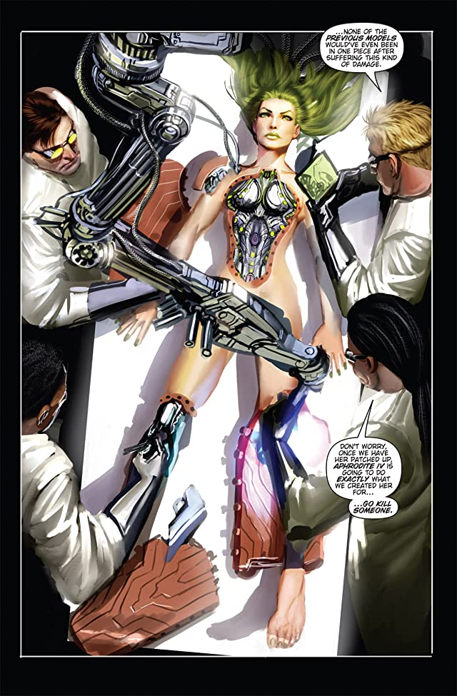 click for super-sized previews of Witchblade #134