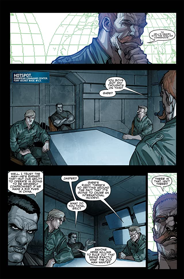 click for super-sized previews of Secret Warriors (2008-2011) #13