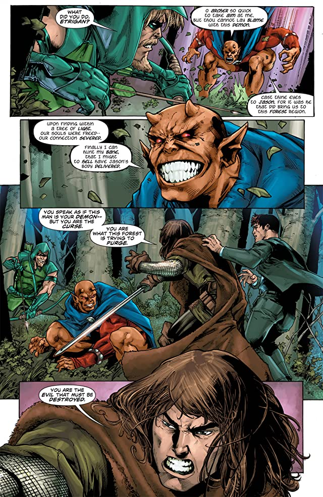 click for super-sized previews of Green Arrow (2010-2011) #8