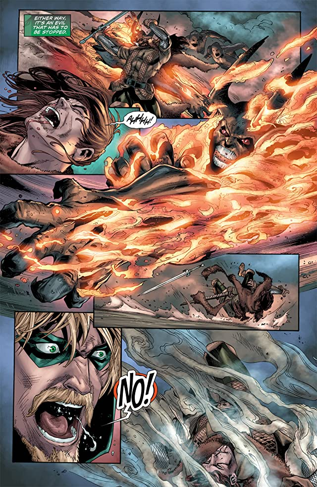 click for super-sized previews of Green Arrow (2010-2011) #11