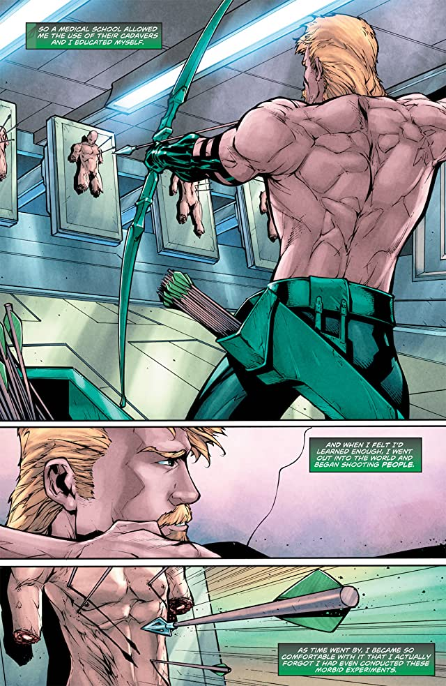 click for super-sized previews of Green Arrow (2010-2011) #13