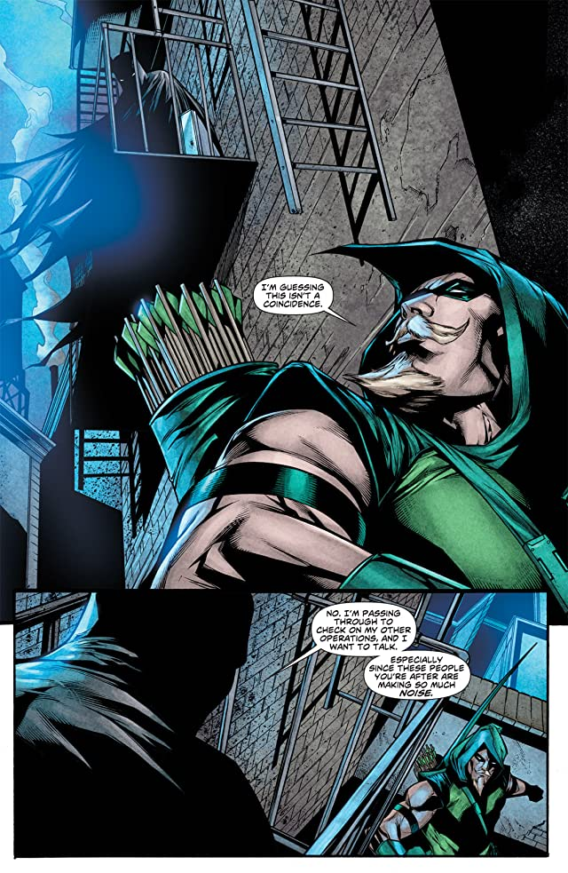 click for super-sized previews of Green Arrow (2010-2011) #14
