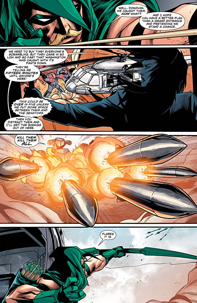 Green Arrow (2010-2011) #15